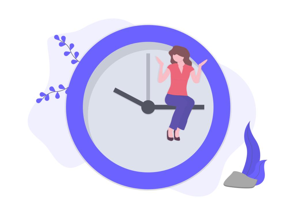 習慣は時間の経過とともに大きな変化をもたらす